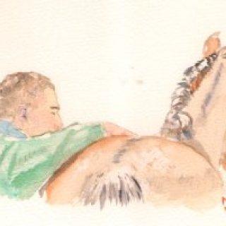 aquarelle-MJ-cheval-christophe-300